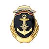 Нагрудный знак «Государственный инспектор по маломерным судам» с индивидуальным номером