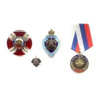 Комплект знаков «70 лет ОПП МВД России»