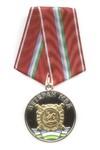 Медаль с накладным венком «Ветеран МВД Республики Башкортостан»