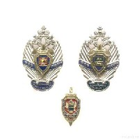 Комплект знаков «ФСБ России»