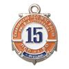 Знак «15 лет Сахалинскому ПСО МЧС РФ им. В.А. Полякова, с. Охотское» с бланком удостоверения