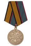 Медаль МО РФ «За отличие в военной службе» III степени с бланком удостоверения (образец 2017 г.)