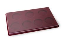 Удостоверение к награде Планшет для монет в капсулах 32/44 мм (7 ячеек)