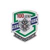Фрачный значок «100 лет ВО ЖДТ России»