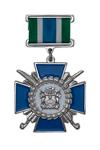 Знак на колодке «За заслуги перед Майкопским отделом Кубанского КВ»