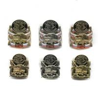 Полный комплект знаков «За выслугу лет (5, 10, 15, 20, 25, 30 лет) Когалымнефтегеоразведка»