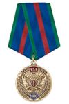 Медаль «135 лет подразделениям по конвоированию УИС России» с бланком удостоверения