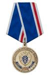 Медаль «90 лет правительственной связи России» с бланком удостоверения