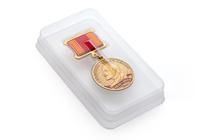 Футляр прозрачный (блистер) под медаль d-32 мм на квадроколодке