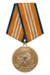 Медаль официальная МЧС России «30 лет МЧС России» с бланком удостоверения