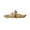 Знак «Командир корабля РФ» (золотистый)