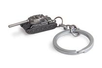 Металлический брелок с подвеской «Танк»