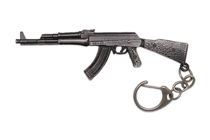 Металлический брелок с подвеской «АК-47» 95 мм