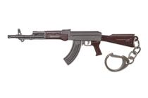 Металлический брелок с подвеской «АК-47» 120 мм