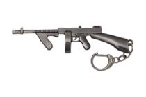 Металлический брелок с подвеской «Томпсон» 110 мм