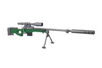 Макет оружия в металле «Magnum AWM L115A1» 300 мм