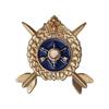 Фрачный знак «60 лет РВСН» со стрелами