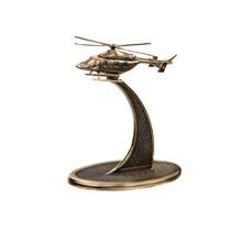 Вертолет Ансат на подставке, масштабная модель 1:200