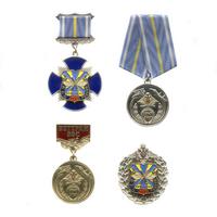 Комплект знаков «100 лет ВВС России», 4 шт.