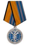 Медаль МО «За заслуги в военной журналистике» с бланком удостоверения