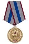 Медаль «25 лет службе охраны ФКУ ИК-1 УФСИН» с бланком удостоверения