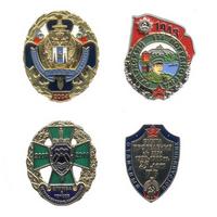 Комплект знаков «Тихоокеанские пограничники»