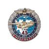 Знак «45 лет в небе Якутии Л-410»
