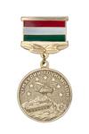 """Медаль «10 лет НПО """"Щит Мира"""" Республика Таджикистан»"""