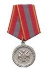 Серебряная медаль «За доблесть»