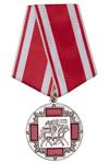 Медаль «За жертвенное служение» с бланком удостоверения