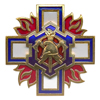 Знак двухуровневый «Специальные подразделения ФПС» с бланком удостоверения