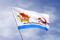 Удостоверение к награде Гвардейский Краснознамённый флаг ВМФ (1950 - 1992)