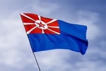 Удостоверение к награде Кормовой флаг вспомогательных и портовых судов РККФ