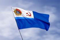 Удостоверение к награде Кормовой флаг парохода Старый большевик