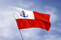 Удостоверение к награде Флаг военно-морской допризывной подготовки