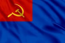 Флаг вспомогательных судов РККФ (командир не военный моряк)