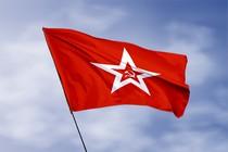 Удостоверение к награде Флаг Гюйс ВМФ СССР