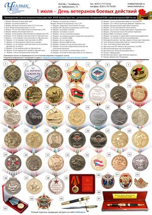 Награды для Советов Ветеранов боевых действий
