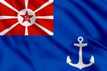 Флаг командира военного порта (1924 - 1935)
