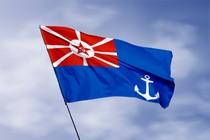Удостоверение к награде Флаг командира военного порта (1924 - 1935)