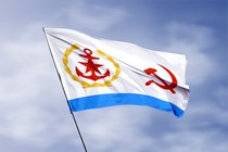 Удостоверение к награде Флаг начальника Главного штаба ВМФ СССР