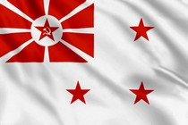 Флаг начальника Морских сил моря