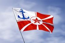 Удостоверение к награде Флаг начальника морских учебных заведений РККФ