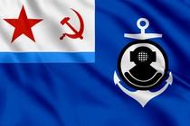 Флаг начальника спасательной службы флота