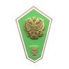 Знак «Об окончании сельскохозяйственного СУЗа» с накладным гербом