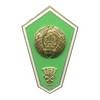 Знак «Об окончании сельскохозяйственного СУЗа Белоруссии» с накладным орлом