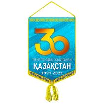 Вымпел «30 лет независимости Республики Казахстан»