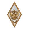 Академический знак «Об окончании с отличием военной Академии»