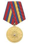 Медаль «90 лет милиции России 1917-2007 (с орлом МВД)»
