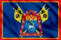 Флаг Герб Всевеликого войска Донского